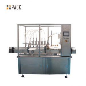 Varm försäljning Automatisk flaska 2 munstycksfyllningsmaskin örtblomma eterisk olja injektionsflaska Fyllning Capping Machine