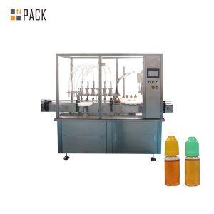 Peristaltisk pumpvätskepåfyllningsmaskin för liten flaskflaska