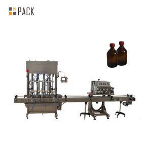 Hög noggrannhet Automatisk smörjolja / smörjoljepåfyllningsmaskin