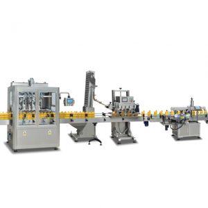 Helautomatiska 2 i 1 sus304-flaskmaskiner för tillverkning av olivolja