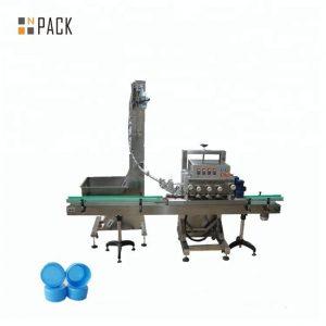 Automatisk roterande lockmaskin för medicinsk flaska