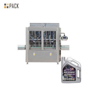 5-5000 ml Enhuvud Pneumatisk kolv Honungfyllmedel Paste Fill Machine för flytande flaska