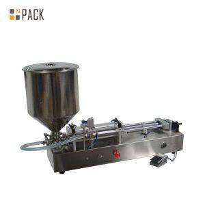 Mycket populär glasspåfyllningsmaskin / fyllmaskin med dubbla huvuden / nagellackpåfyllningsmaskin