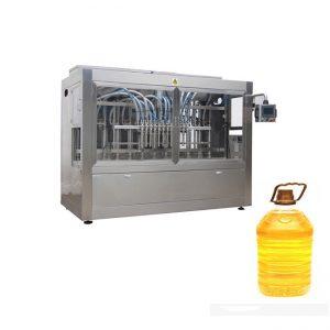 Full automatisk senap palm ätbar olja fylla förpackningsmaskin
