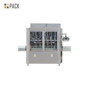Högkvalitativ matoljepåfyllningsmaskin Vegetabilisk oljeflaske påfyllningslockningsmaskin