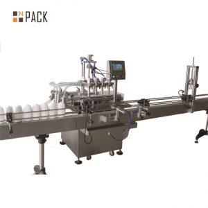 Sojasås vinägerfyllningsmaskin, påfyllningsmaskin för vegetabilisk olja, såsmaskin