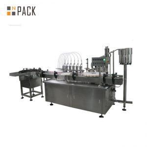 10 ml & 60 ml fabrikspris E-maskiner för fyllning av flytande flaskor